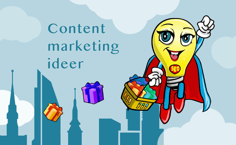 Maskotten Munter flyr over Oslo med gaver i en handlekurv. Hun skal gir bort gratis content marketing ideer til alle bedrifter.