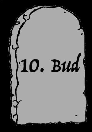"""Tiende bud for bruk av bilder presentert som en steintavle med påskriften """"10. Bud""""."""