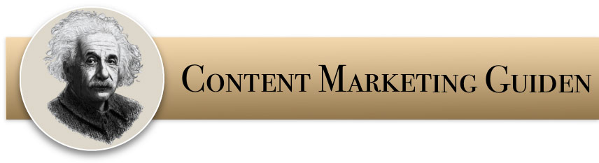 Logoen til Content Marketing Guiden
